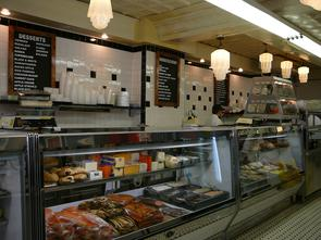 Famous 4th Street Delicatessen interior. Image provided by Historical Society of Pennsylvania