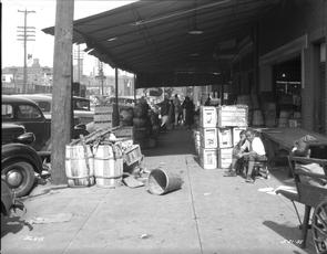 9th Street and Washington Avenue. Image provided by City of Philadelphia Department of Records
