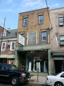 Paul's Draperies storefront on Fabric Row. Image provided by Historical Society of Pennsylvania