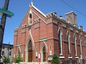 St. Paul's Roman Catholic Church. Image provided by Historical Society of Pennsylvania