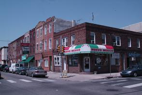 Corner of 10th and Christian. Image provided by Historical Society of Pennsylvania