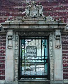 Entrance to the Fante-Leone Public Pool. Image provided by Seth Gaines