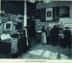 Interior of Casa Ravello Milk Store. Image provided by Historical Society of Pennsylvania