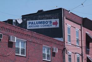 Palumbo's sign. Image provided by Historical Society of Pennsylvania