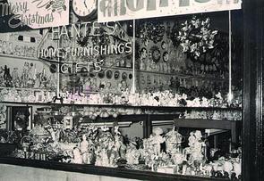 Window of Fante's, 1956. Image provided by Mariella Esposito