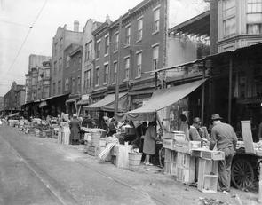 Ninth Street, above Federal Street, 1941. Image provided by Free Library of Philadelphia