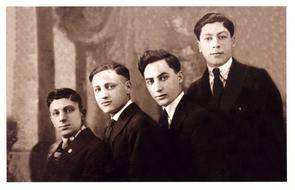 Fiorella Brothers portrait. Image provided by Historical Society of Pennsylvania