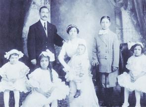 Fante family, 1910s. Image provided by Mariella Esposito