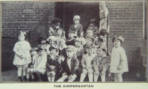 The Kindergarten (St. Martha's House). Image provided by Historical Society of Pennsylvania