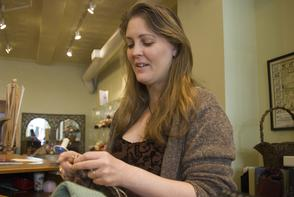 Jen Carpenter (Sophie's Yarns). Image provided by Cross/Walks
