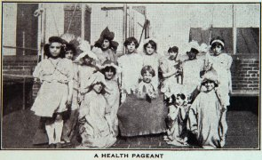 A Health pageant (St. Martha's House). Image provided by Historical Society of Pennsylvania