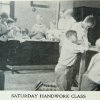 Saturday handwork class. Image provided by Historical Society of Pennsylvania