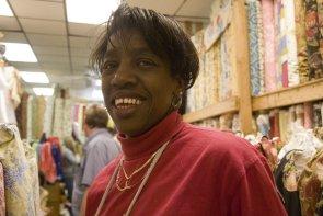 Marsha Lawrence (Jack B. Fabrics). Image provided by Cross/Walks