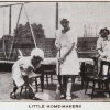 Little home-makers (St. Martha's House). Image provided by Historical Society of Pennsylvania