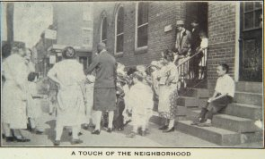 A Touch of the neighborhood (St. Martha's House). Image provided by Historical Society of Pennsylvania