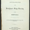 Report of the Operations of the Southwark Soup Society. Image provided by Historical Society of Pennsylvania