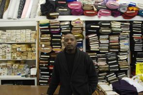 Larnell Baldwin (Baldwin's Fabric & Leather). Image provided by Cross/Walks