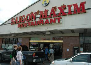 Saigon Maxim restaurant. Image provided by City of Philadelphia Department of Records