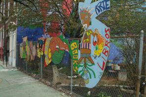 Mural at Park on 2700 Block of North 5th Street. Image provided by Historical Society of Pennsylvania