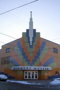 Mummers Museum. Image provided by Historical Society of Pennsylvania