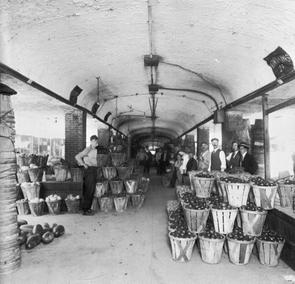 Interior of Markethouse. Image provided by Philadelphia City Archives