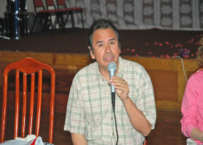 Community activist Ricardo Diaz, 2006. Image provided by City of Philadelphia Department of Records