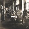 Women operating box assembling machines. Image provided by Library Company of Philadelphia
