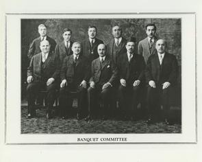 1930 Banquet Committee. Image provided by Elaine Ellison