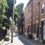 Bodine Street row houses. Image provided by Historical Society of Pennsylvania