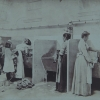 Women at Public Baths Association laundry. Image provided by Historical Society of Pennsylvania