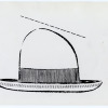 Stetson Hat Design. Image provided by Historical Society of Pennsylvania