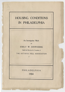 """Housing Conditions in Philadelphia"". Image provided by Historical Society of Pennsylvania"