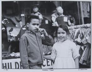 Marshall Street: children. Image provided by Irv Orenstein