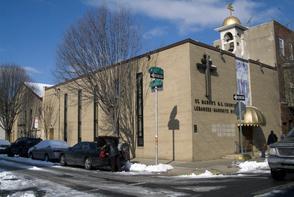 St. Maron's Church exterior. Image provided by Historical Society of Pennsylvania