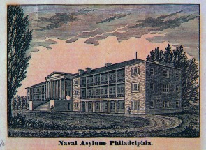 Naval Asylum, Philadelphia. Image provided by Historical Society of Pennsylvania