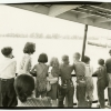 """Children on the """"Elizabeth Monroe Smith"""" steamship on the Delaware River. Image provided by Historical Society of Pennsylvania"""