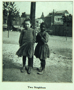 Two Neighbors. Image provided by Historical Society of Pennsylvania