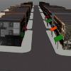 3-D computer modeling of 9th Street Market. Image provided by Shimrit Keddem
