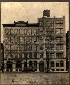 Exterior G. A. Bisler Paper and Box Company factory. Image provided by Library Company of Philadelphia