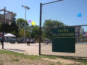 Sacks Playground. Image provided by Historical Society of Pennsylvania