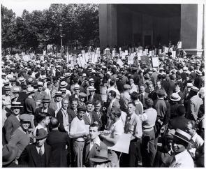 Protest at Reyburn Plaza