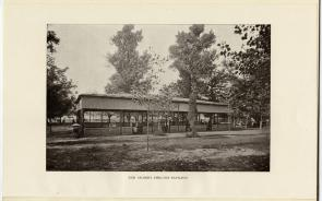 The Gilbert shelter pavilion. Image provided by Historical Society of Pennsylvania