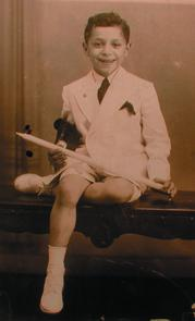 Paul Giordano Jr., First Communion. Image provided by Mariella Esposito
