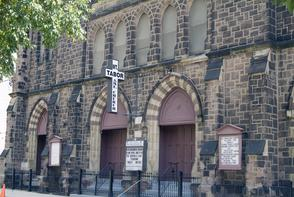 Mt. Tabor African Methodist Episcopal Church. Image provided by Historical Society of Pennsylvania