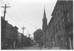 Emanuel Evangelical Lutheran Church and 4th Street. Image provided by Emanuel Lutheran Church