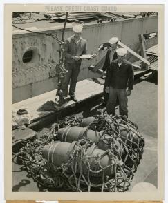Coast Guard on Hog Island. Image provided by Historical Society of Pennsylvania