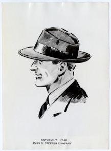 Stetson men's hat. Image provided by Historical Society of Pennsylvania