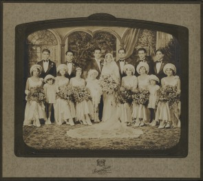 Wedding portrait of Antonio Castano. Image provided by Historical Society of Pennsylvania