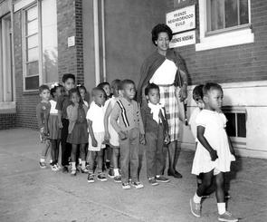 Children at Friends Neighborhood Guild. Image provided by Temple University Urban Archives