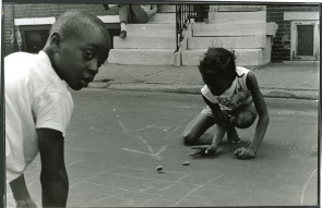 Street Games, 13th & South, 1969